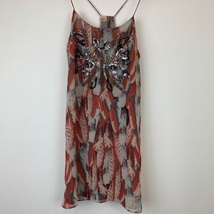 Sweet Rain Camisole Mini Dress Sequins Sz S